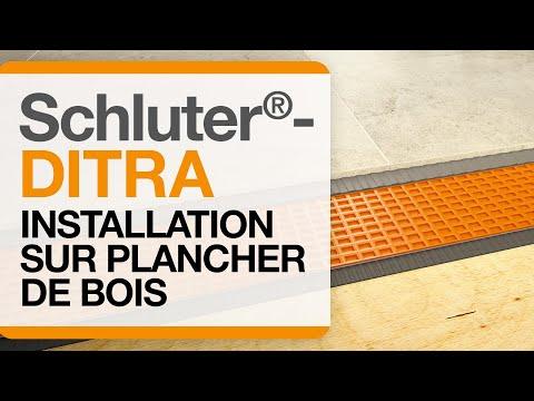 Schluter®-DITRA: Installation sur plancher de bois/vidéo complète