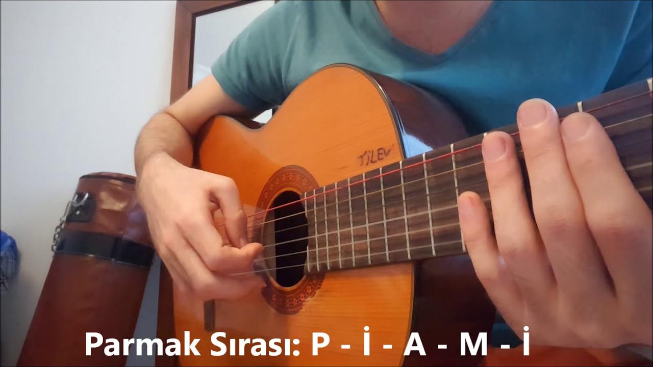 Guitar Solo Exercises - Gitar Solo Egzersiz ( Gitar Dersi )