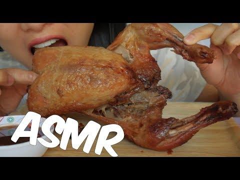 ASMR Thai BBQ CHICKEN (EATING SOUNDS) No Talking | SAS-ASMR