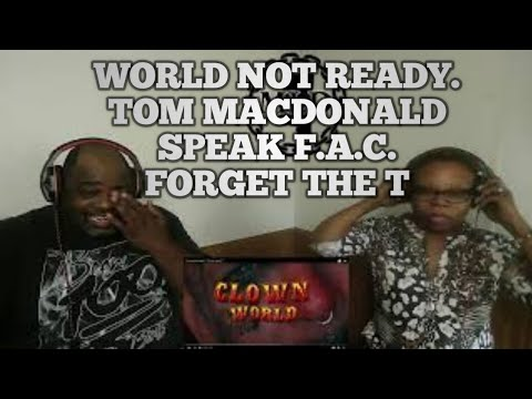 Tom MacDonald   'Clown World' (Reaction)