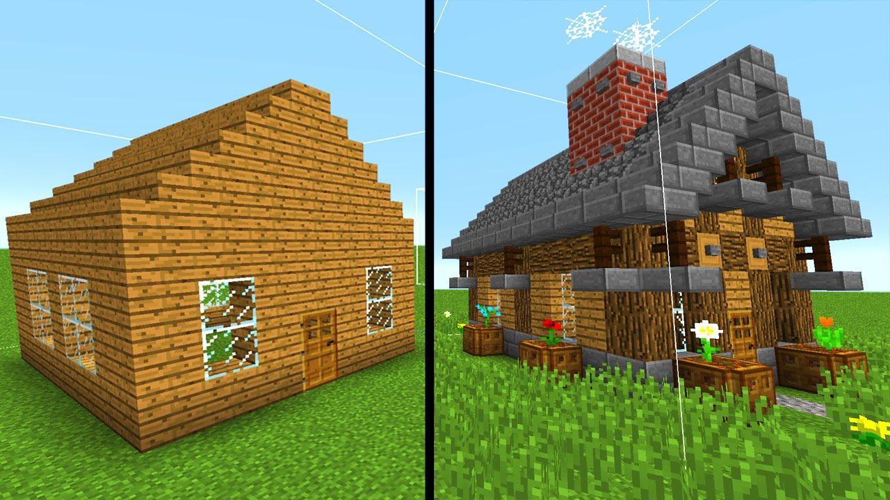 11 Tipps Um Dein Minecraft Haus Zu Verbessern!   YouTube