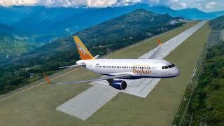 This is Brand New Beautiful Pakyong Airport of India ✈ |  यह भारत का नया 100वां सुंदर हवाई अड्डा है
