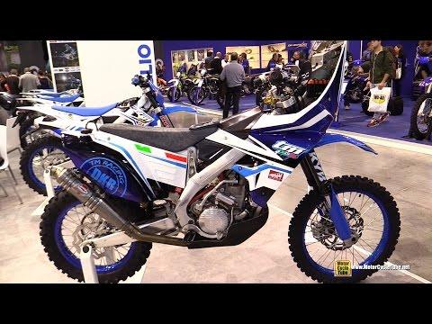 TM Racing Dakar  Rally Bike - Walkaround -  EICMA Milan Motorcycle Exhibition