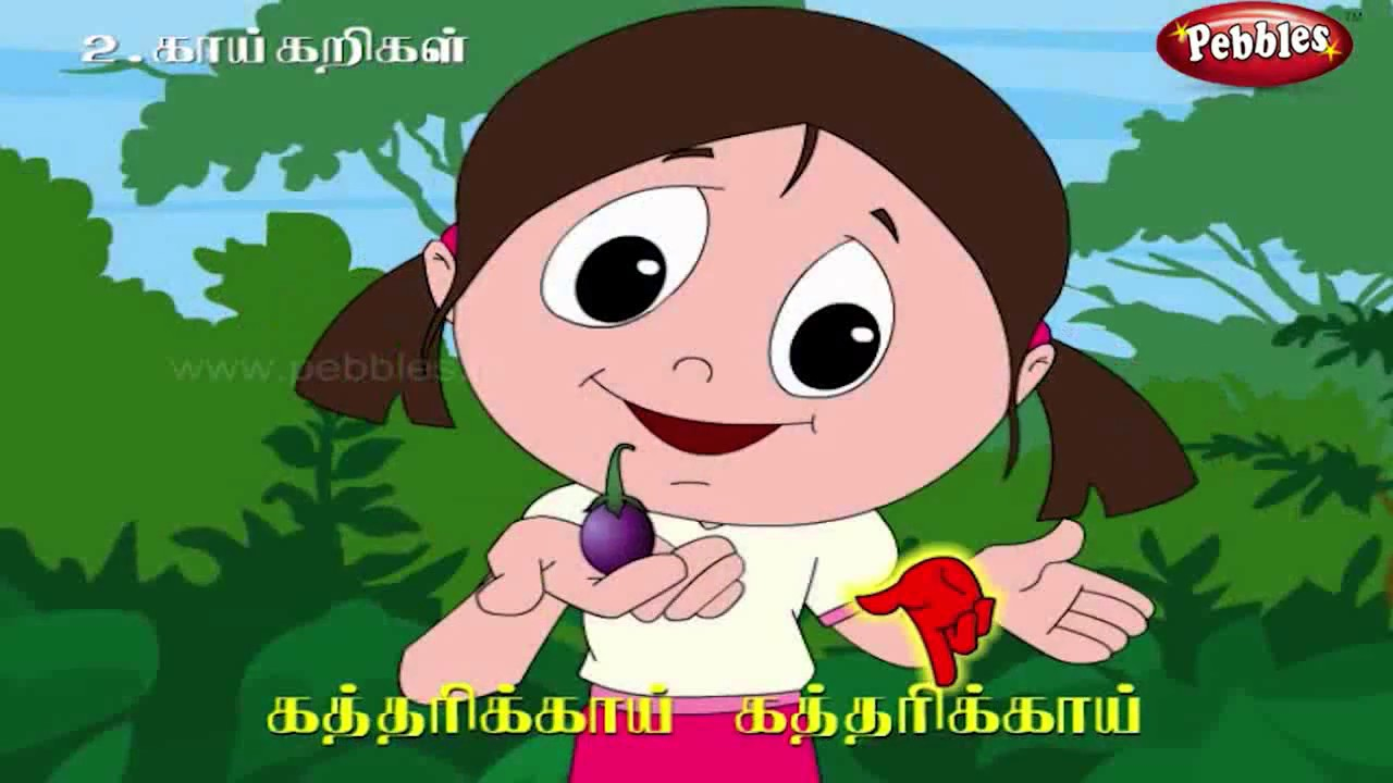 Tamil Rhymes for Children | Tamil Rhymes & Baby Songs ...