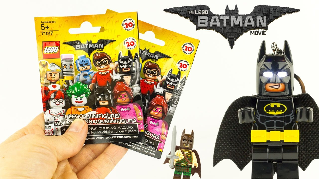 LEGO Batman Le Film Mini Figurines Surprises Goodies Jouet ...