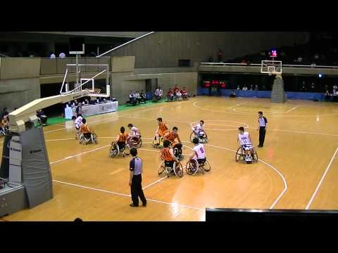 埼玉ライオンズvs宮城MAX.1.車椅子バスケットボール選手権2012posted by a2k1e2vezl4