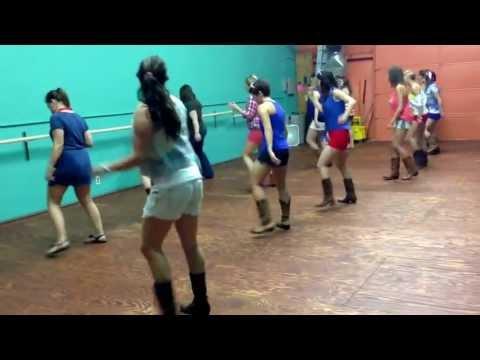 Shotgun Jenny line dance to Shake it by the Lacs