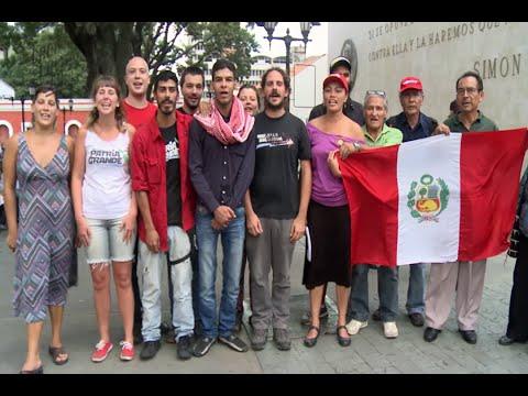 El Mundo Con Venezuela - Los Pueblos también Votamos por la Revolución