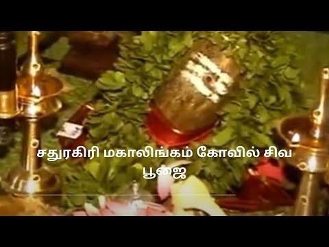 Sathuragiri Mahalingam shiva pooja