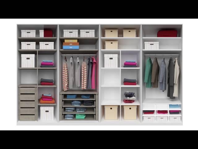Animación interior armarios