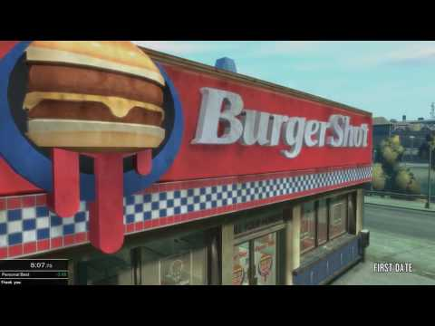 (NEW World Record) Grand Theft Auto IV Any% Speedrun in 3:50:01