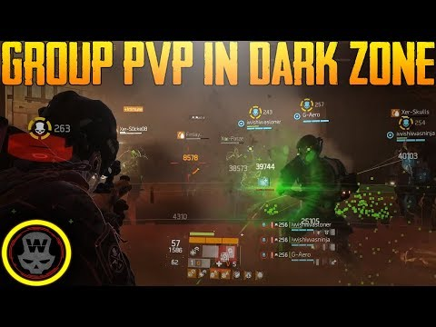 Group PVP in Dark Zone (The Division 1.7)