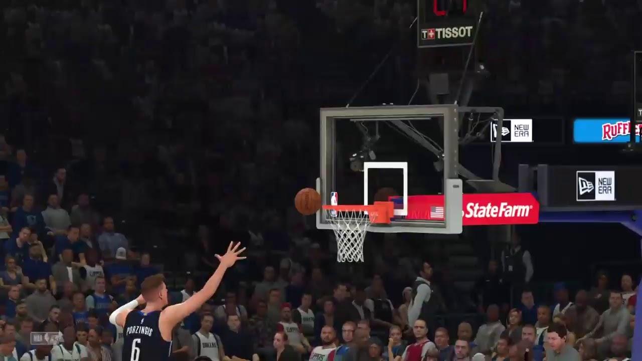 Nba 2k20 La Clippers Vs Dallas Mavericks Youtube