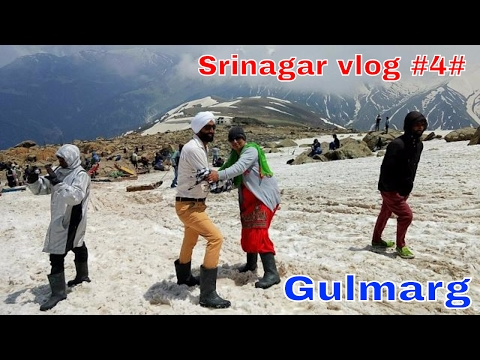 Srinagar vlog 4  Gulmarg hill station(Jammu & Kashmir ) beautiful view