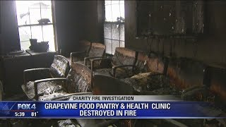 Fire destroys GRACE Grapevine's charity medical clinic(, 2018-04-13T02:19:23.000Z)