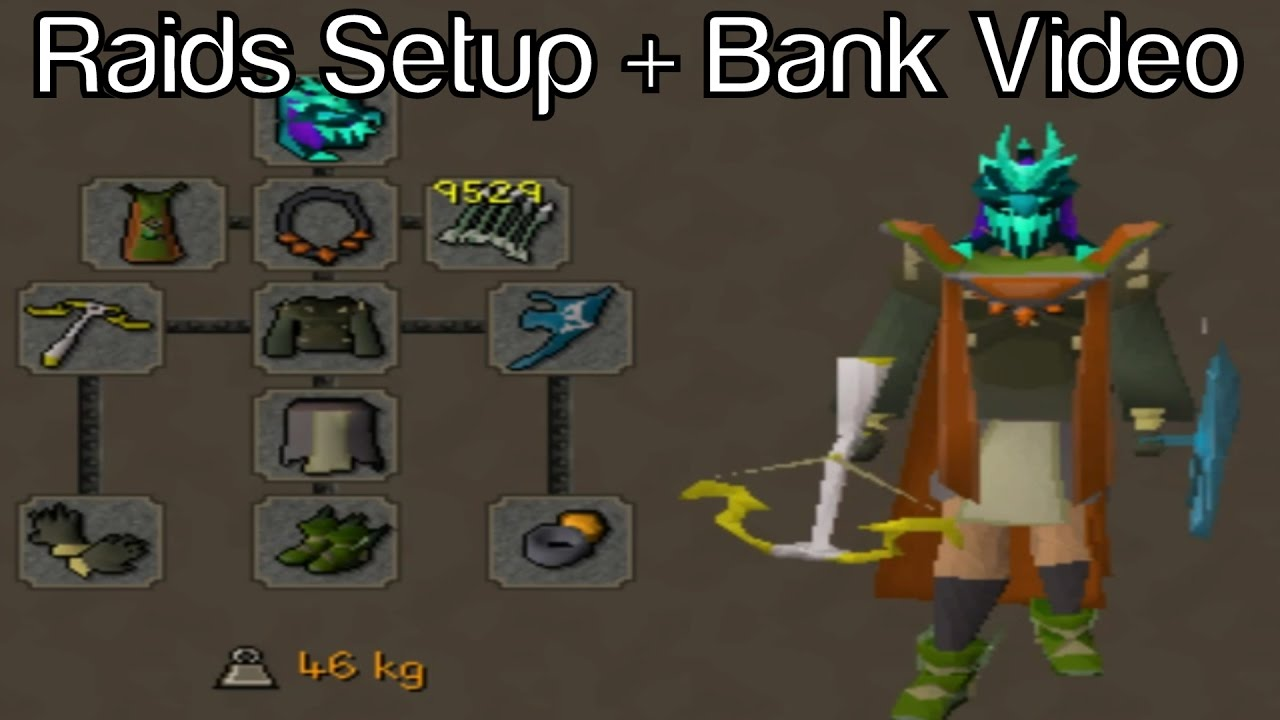 Ready for Twisted Bow | 2B+ Bank Video | RAIDS GEAR + INVENTORY