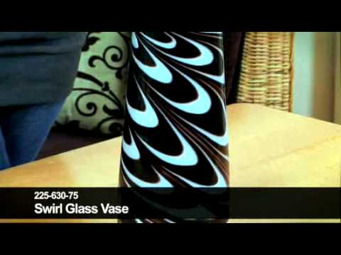 24studio Swirl Glass Vase Youtube