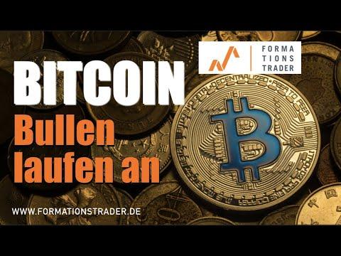Bitcoin: Bullen laufen an