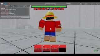 Roblox ABA-Luffy time skip showcase