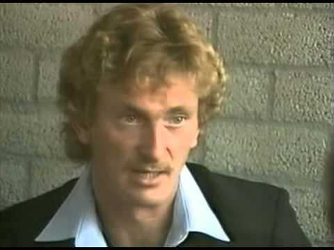 Assen 1982 after the race 500cc Jack Middelburg intervieuw