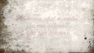 When You Believe - Maccabeats (lyrics)