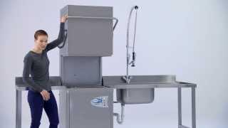CLASSEQ Haubenspülmaschine für die Gastronomie