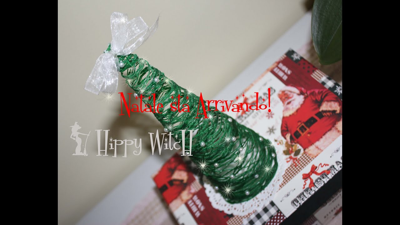Super Albero di Natale Fatto a Mano - Tutorial -Riciclo creativo - YouTube WC98