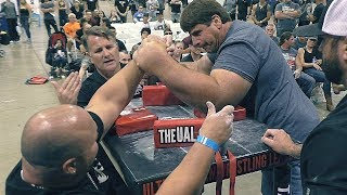 Arm Wrestling Domination by Jeff DABE at UAL 15