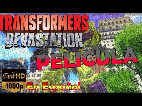 Transformers: Devastation Pelicula Completa (Game Movie) - Todas las cinematicas en Español  HD
