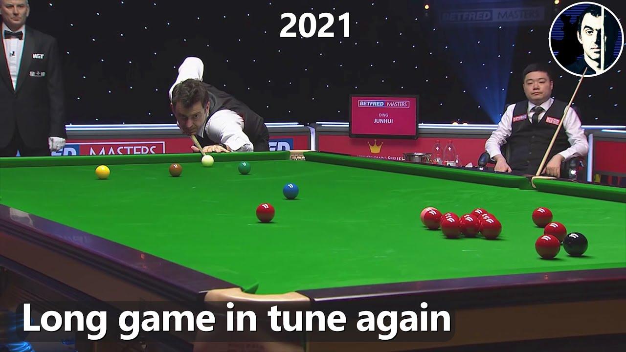 Snooker Master Class | Ronnie O'Sullivan vs Ding Junhui | 2021 Masters