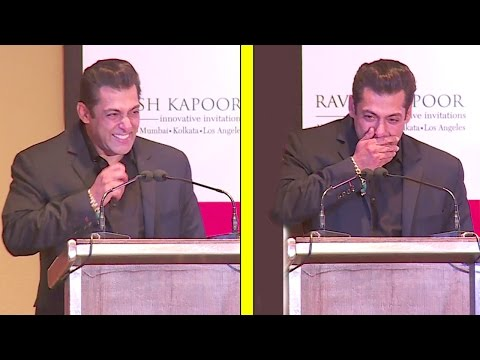 Thumbnail: Salman Khan's FUNNIEST Speech Where He Could'nt Stop Laughing At All