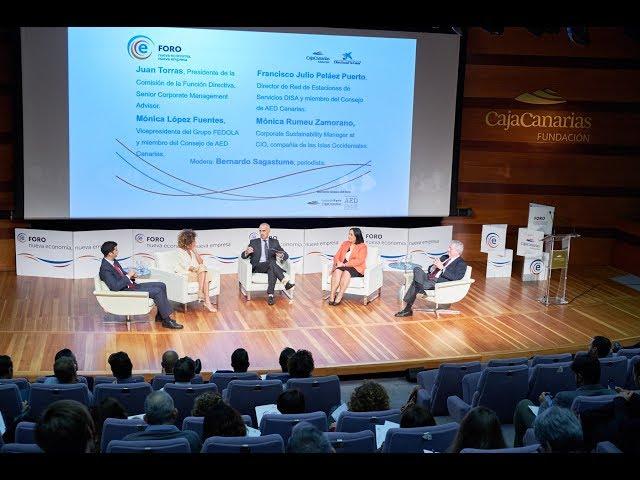 Debate FOROE   Presentación del informe sobre la Función Directiva