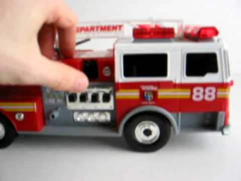 tonka fire truck 88 youtube