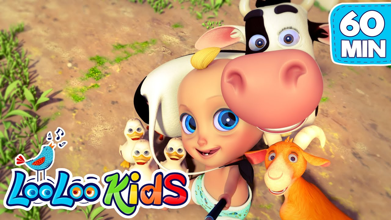 She`s My Friend Lola | Lola The Cow and more BEST Songs for KIDS | LooLoo KIDS