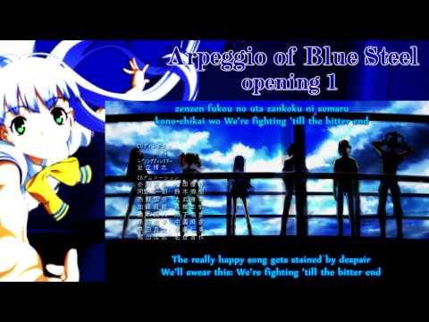 蒼き鋼のアルペジオ OP/Aoki hagane no arpeggio Opening HD w/subs