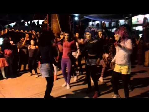 Carnaval Tenango de Doria 2016... #zumba #imitaciones calle 5 de Mayo, Barrio las calacas