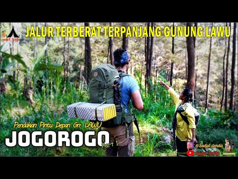 Jalur Jogorogo Halaman Depan Gunung Lawu Ekstrim Mempesona Part 01 Mrcampingmuncak Youtube