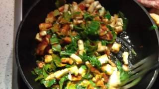Ведическая кухня.Вегетарианский рецепт.