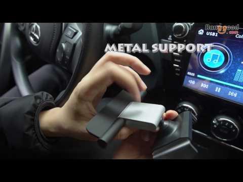 Alightstone Universal 360° Rotation CD Slot Car Phone Mount Holder for 3.5-5.5 inch Cellphone