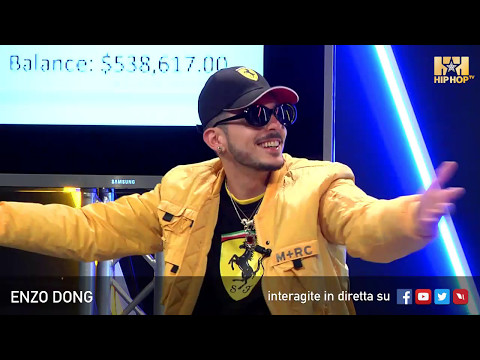 ENZO DONG LIVE SU HIP HOP TV ⚽️🤑📲