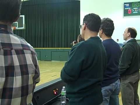 National Anthem Performance at Austin Preparatory School