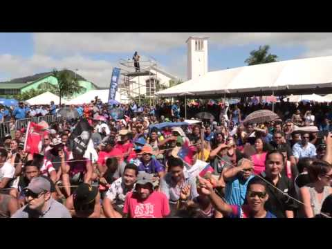 CGW | The All Blacks are welcomed to SAMOA!