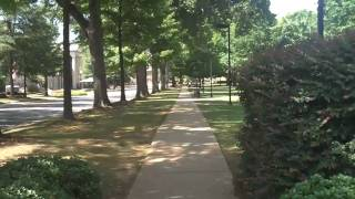 University of Alabama campus