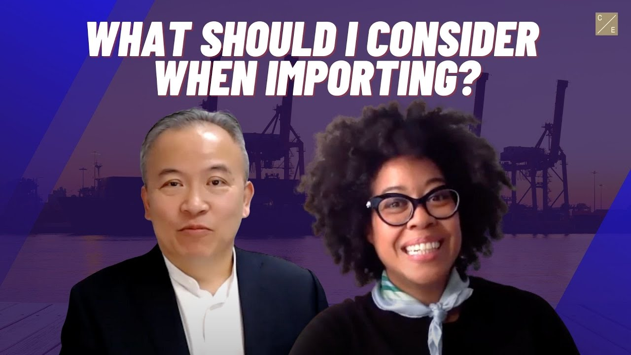 What Should I Consider When Importing? A Video Interview with Tony Liu, Esq. and Deanna Clark, Esq.