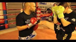 Muay Thai Kickboxing Class At Jmtk Mma Training Facility In Wichita,ks