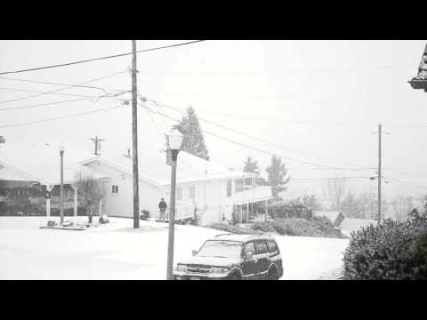Snow Jan 3 2016 Tacoma, WA