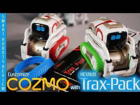 Cozmo Custom Treads By Hexnub - Trax Pack - Smart Robots Review