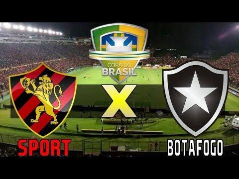 Sport 1 X 1 Botafogo 31 05 2017 Copa Do Brasil 2017 Oitavas De Final Pes 2017 Youtube