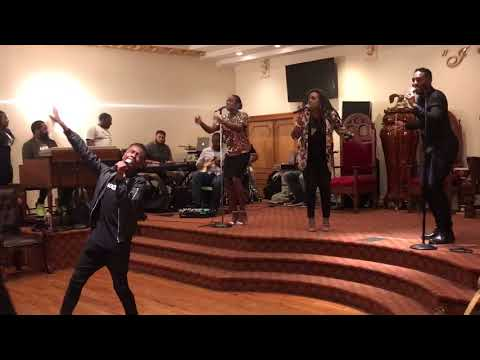"Miles Caton leads Praise & Worship ""Let it Rise"""