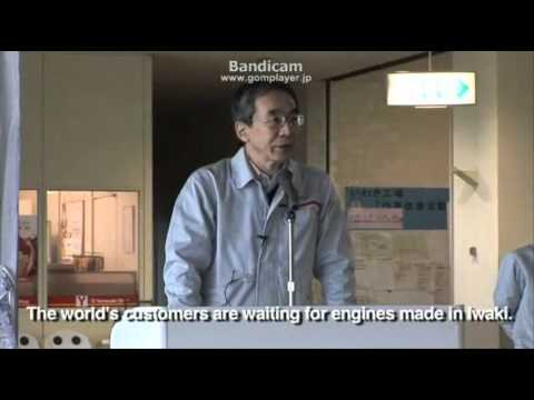 Nissan Factories in Japan Gear Up for Recovery